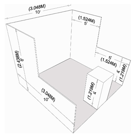 standard linear booth